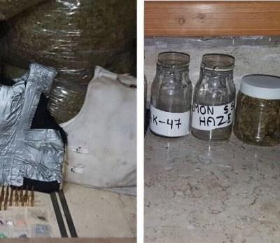 Policías detienen a tres sujetos con galletas de marihuana en Tepito