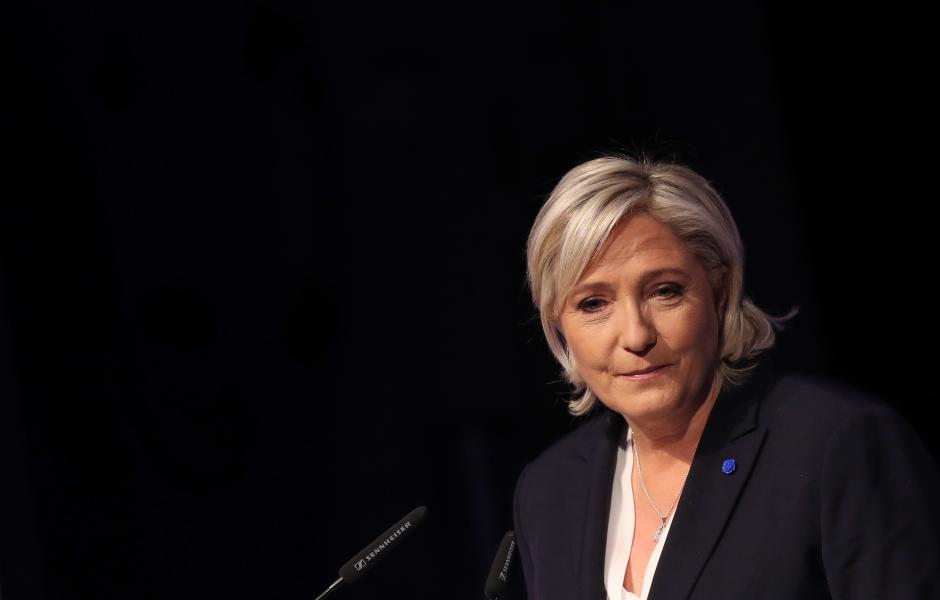 Marine Le Pen, líder del partido ultraderechista francés Frente Nacional