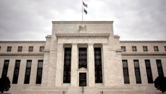 Vista del edificio de la Junta de la Reserva Federal en Washington, donde se liberó el informe del Libro Beige (AP)