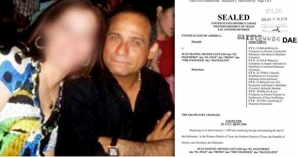 Juan Manuel Muñoz Luévano, 'Mono Muñoz', narcotraficante mexicano (Facebook)