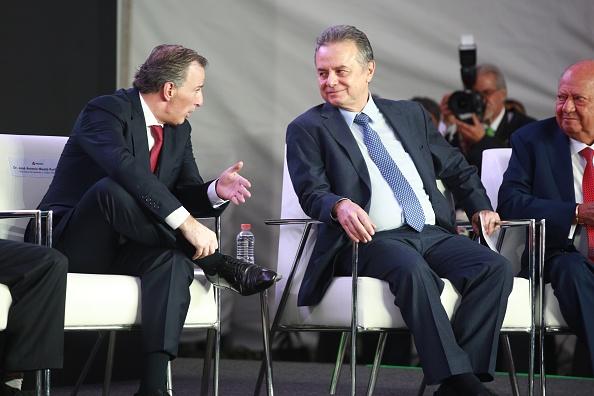 José Antonio Meade y Pedro Joaquín Coldwell (Getty Images)
