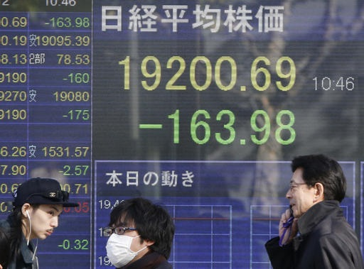 La Bolsa de Tokio cerró con retrocesos