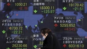 Debilidad del yen tira la Bolsa de Tokio