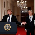El presidente Donald Trump nomina al juez Neil Gorsuch a la Suprema Corte de EU.