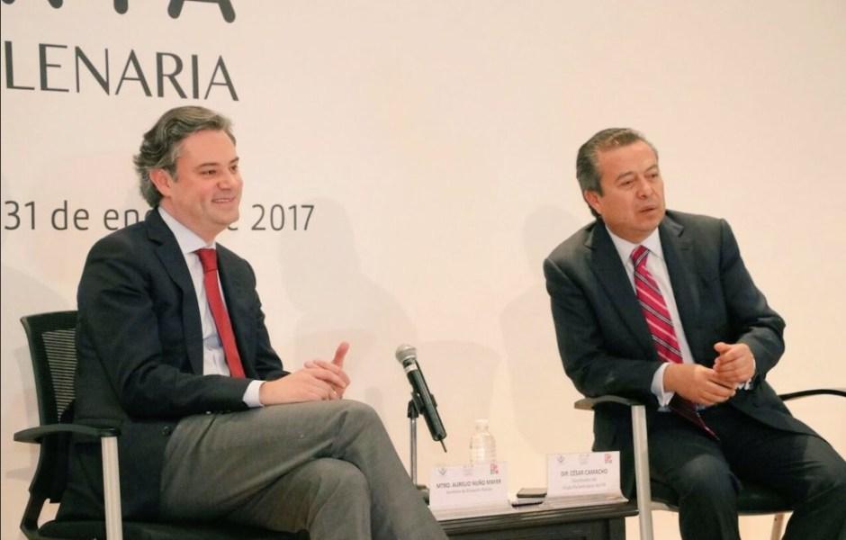 Aurelio Nuño participa en la reunión plenaria del PRI; anuncia que en marzo se dará a conocer el nuevo modelo educativo