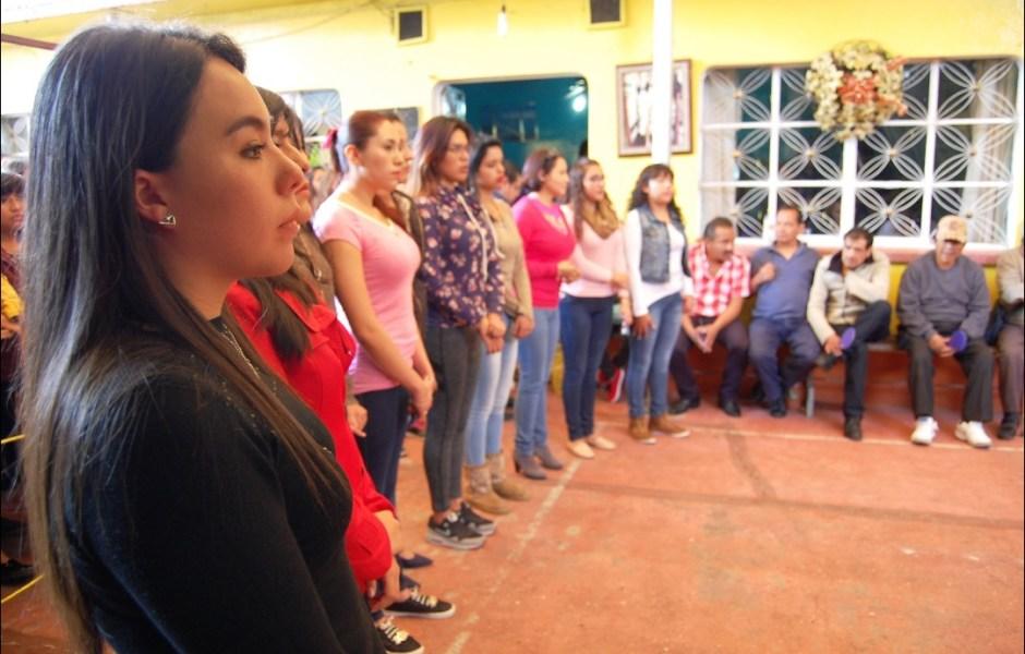 Seleccionan a los personajes femeninos de la Pasión de Cristo en Iztapalapa. (Twitter/@Del_Iztapalapa)