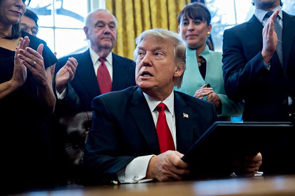 Donald Trump ha gobernado sólo mediante la firma de órdenes ejecutivas (Getty Images)