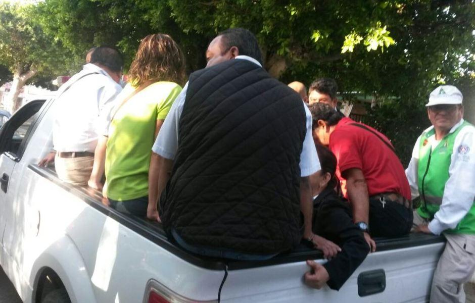Transportistas cumplen cuatro de días de paro de labores en Tuxtla Gutiérrez