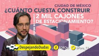 La construcción de estacionamientos en las ciudades tienen consecuencias en tu calidad de vida, Genaro Lozano te lo explica
