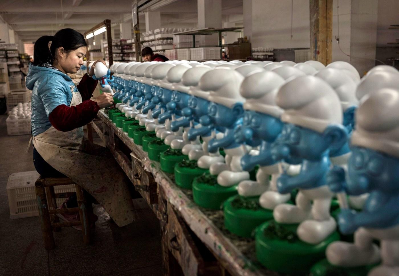 Manufactura en Dehua, China