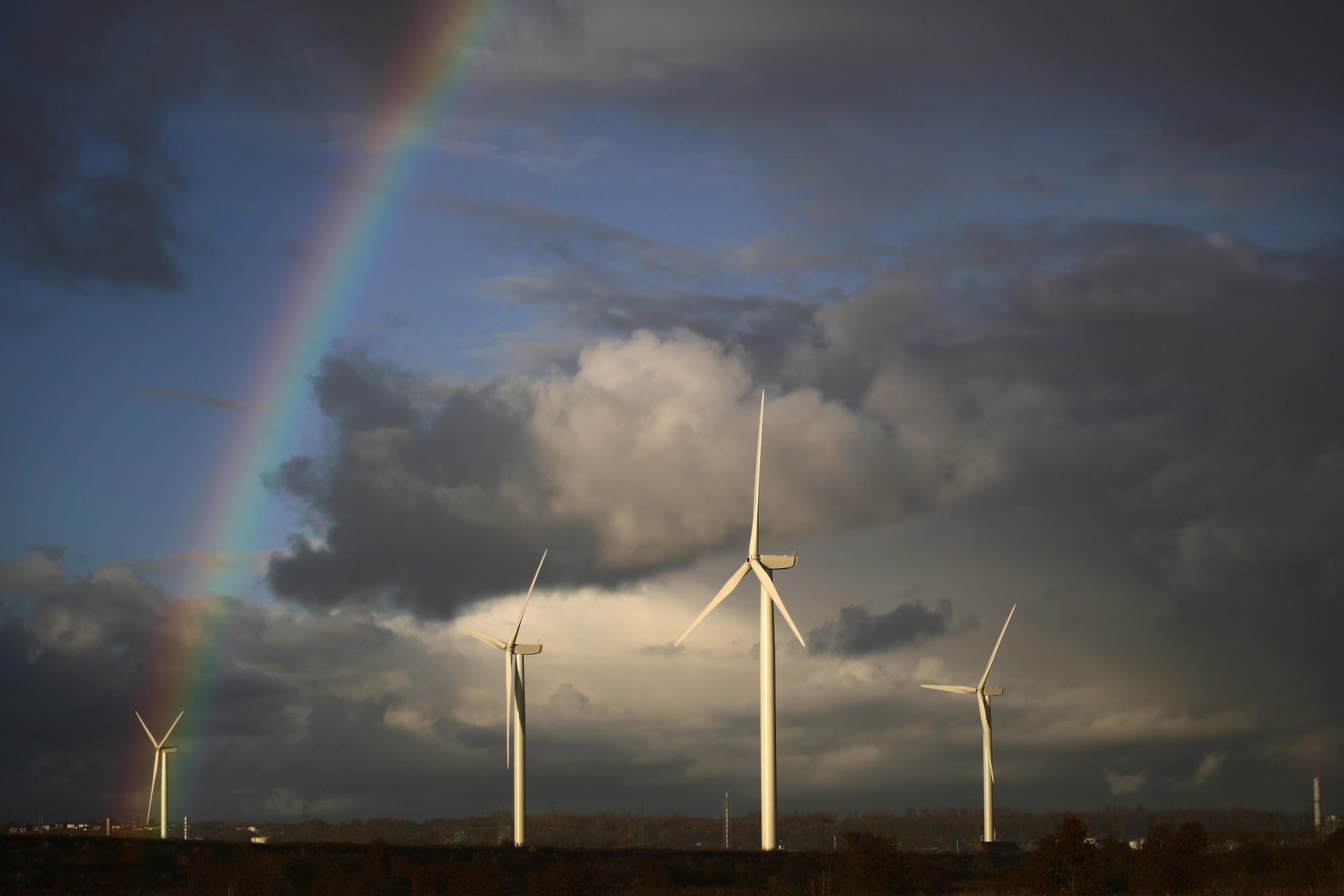 Al ganar Trump, las acciones de compañías de energía renovable cayeron y las de compañías armentistas subieron