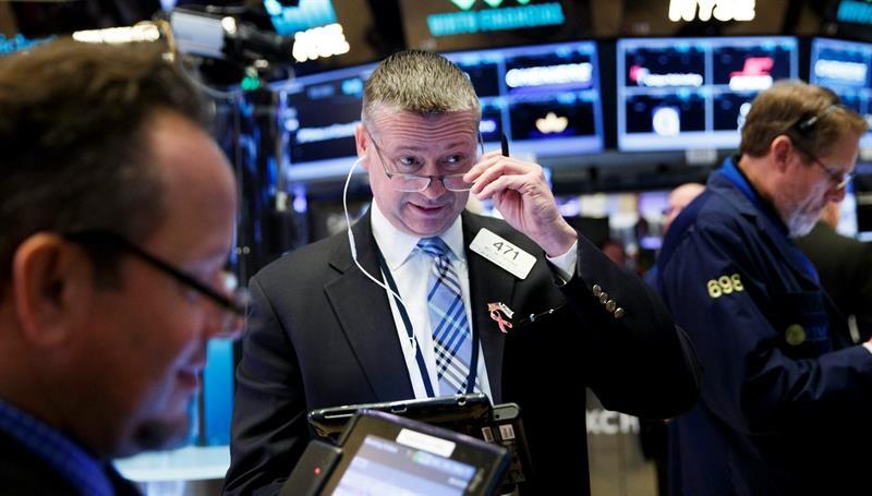 Operadores de la Bolsa de Nueva York (Efe)