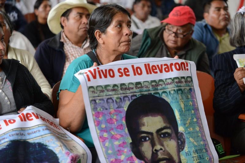 CIDH visita Ayotzinapa