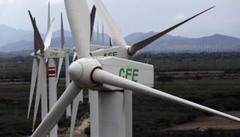 Central de Energía Eólica de la CFE en La Ventosa, Oaxaca. (Getty Images, archivo)