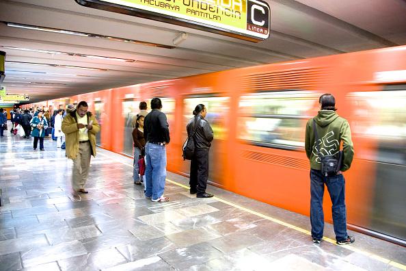 Metro de la Ciudad de México. (Getty Images, archivo)