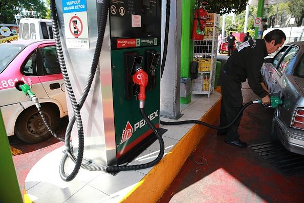 Gasolinera en la Ciudad de México. (Getty Images, archivo)