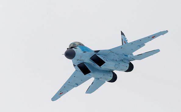 Avión ruso de combate. (Getty Images, archivo)