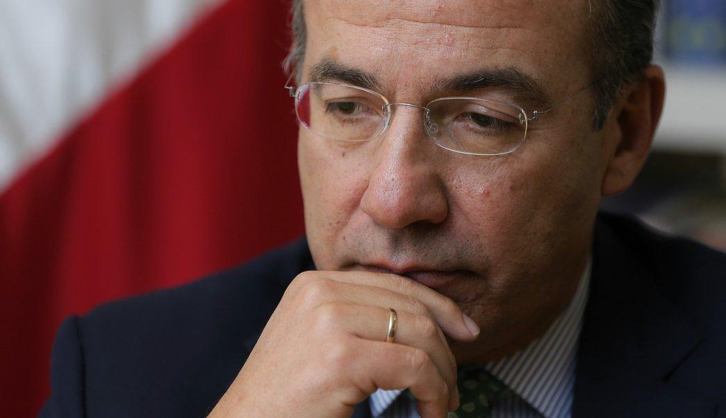 Felipe Calderón, expresidente de México. (EFE, archivo)