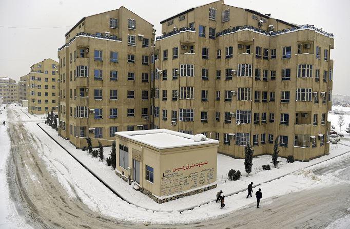 En Kabul, Afganistán, se han registrado intensas nevadas. (AP)