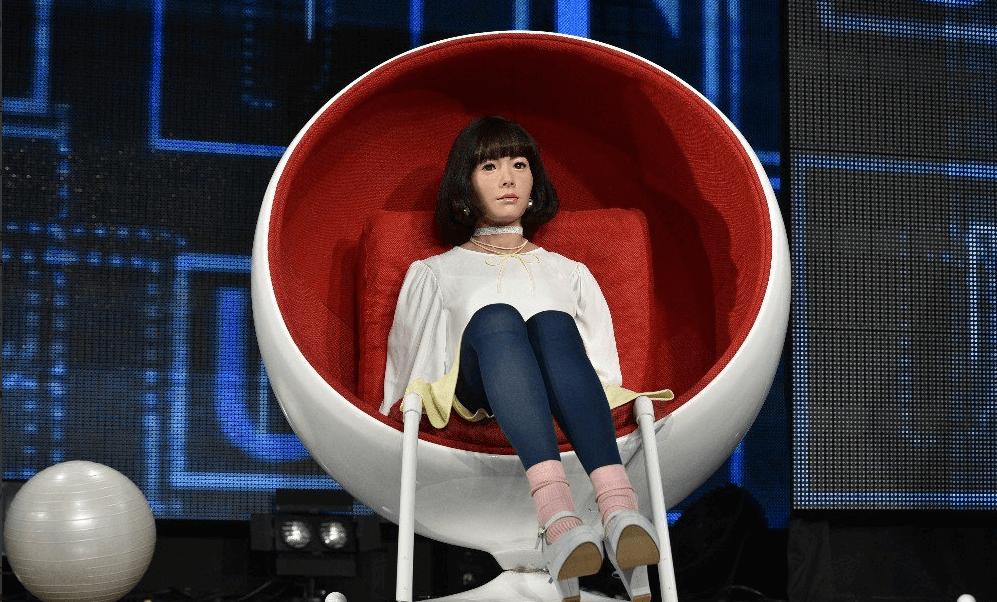 'Androidol U' será la nueva presentadora de un programa de televisión online en directo en Japón. (@kanalfinans)