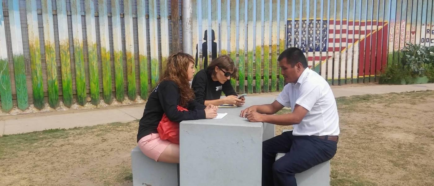 Ángeles de la Frontera brinda asesoría jurídica a migrantes. (Facebook Ángeles de la Frontera)