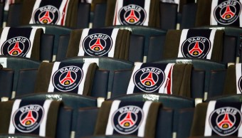 Logotipos del equipo de futbol Paris Saint Germain (AP)