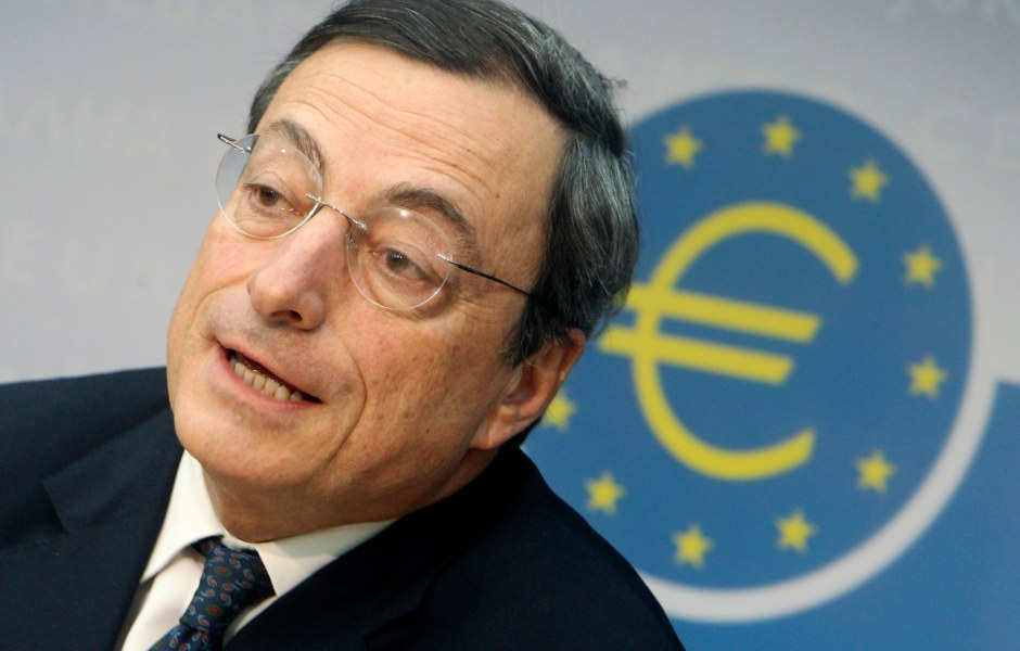 Mario Draghi, presidente del Banco Central Europeo (AP)