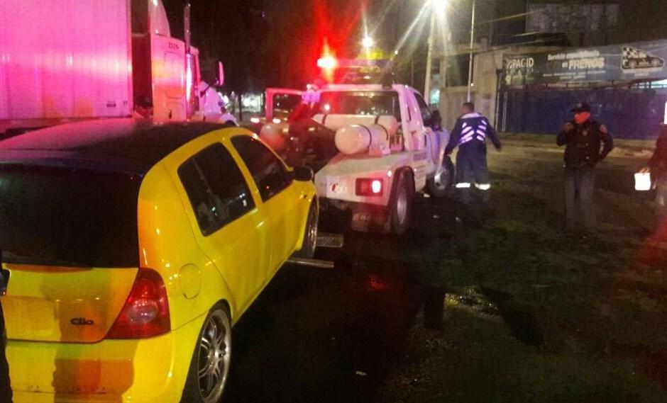 La policía de tránsito envía al Juez Cívico a decenas de motociclistas y conductores por practicar arrancones en la Ciudad de México (Archivo)