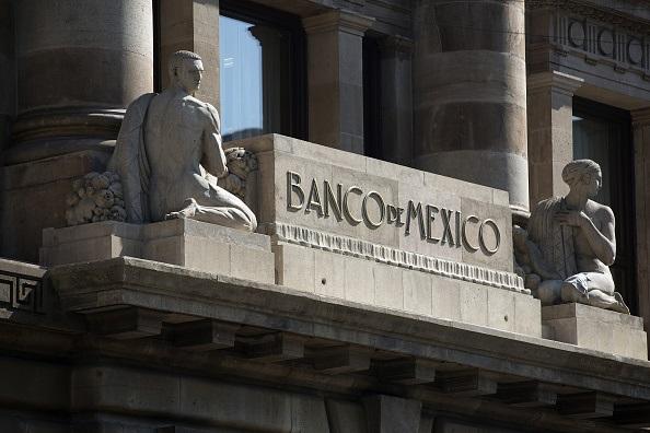 Fachada del edificio sede del Banco de México
