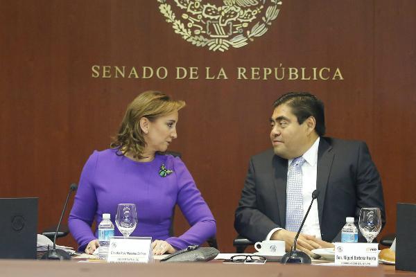 El senador Luis Miguel Barbosa, coordinador de los senadores del PRD, afirma que el gobierno federal debe encontrar mecanismos para que en el futuro no se registren más alzas (Notimex, archivo)