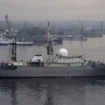 Un buque de inteligencia ruso ha sido descubierto en las aguas de la costa este de EU (AP/ archivo)