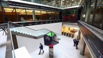 Vista de las oficinas de la London Stock Exchange (Getty Images)