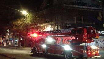 La emergencia fue controlada en minutos sin que se registraran personas lesionadas (Twitter @luismiguelbaraa/Archivo)