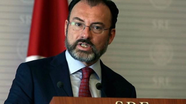 Luis Videgaray, secretario de Relaciones Exteriores. (AP, Archivo)