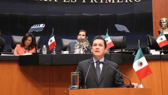 Carlos Puente, coordinador del Partido Verde en el Senado. (@VerdeSenadoMex)