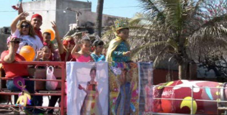 Carnaval de niños en Veracruz (Noticieros Televisa)