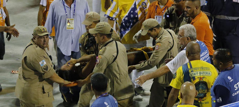 La Policía investiga la causa del accidente. (AP)