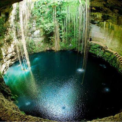 Existen 3 mil cenotes en Yucatán; en 65% hay vestigios de la cultura maya