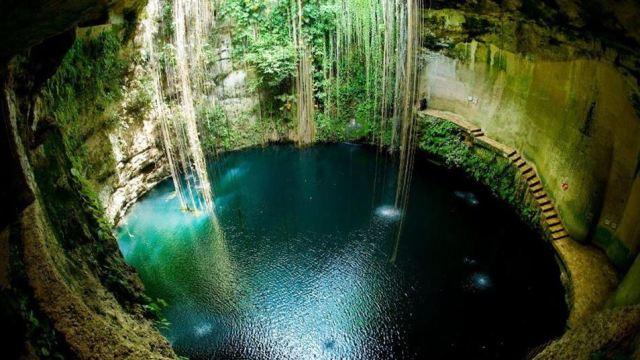 Mediante censo detectan 3 mil cenotes en Yucatán