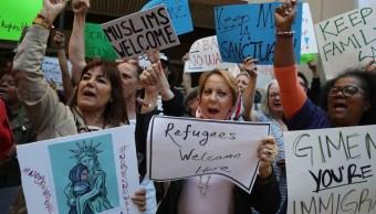 El veto migratorio de Trump generó una ola de protestas en el mundo
