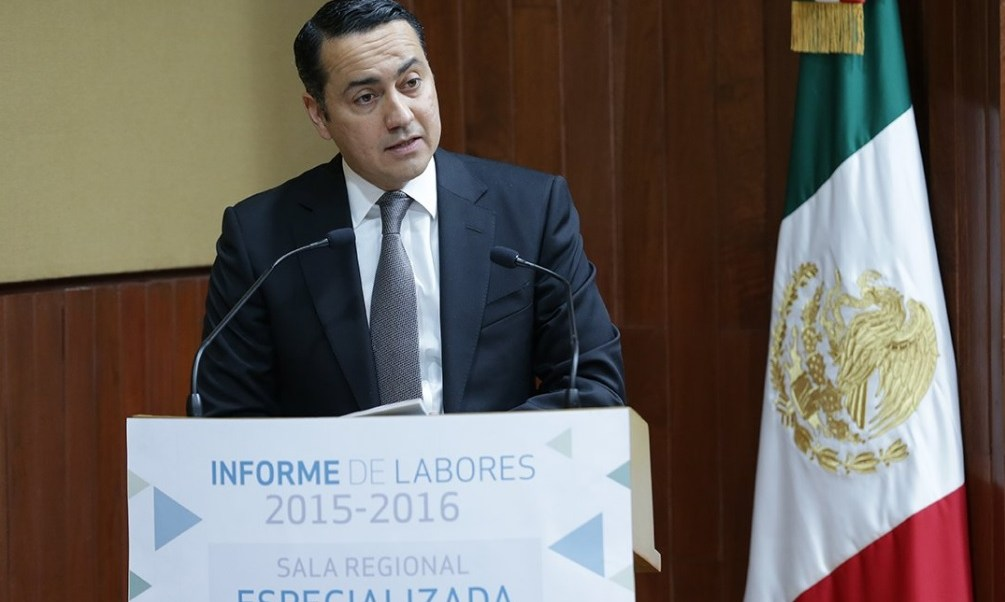 Clicerio Coello Garcés, presidente de la Sala Regional Especializada del TEPJF.