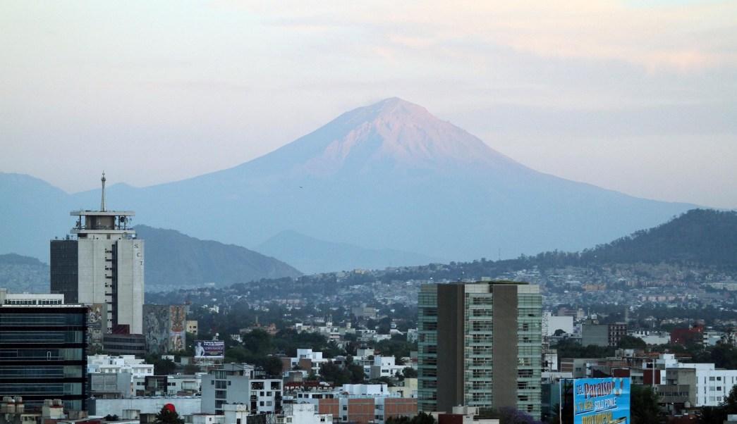 Panorámica de la Ciudad de México; prevén una temperatura máxima de 24 grados centígrados. (Notimex)