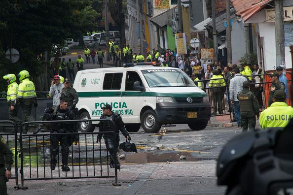 La cifra preliminar de heridos en el atentado que se produjo en el céntrico barrio de La Macarena y que fue facilitada por la Alcaldía de Bogotá es de 31 personas (Getty Images)