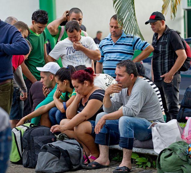 Cubanos continúan llegando a Chiapas (Getty Images, Archivo)