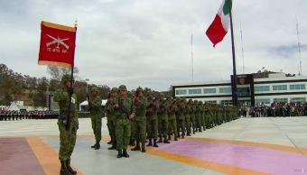 Soldados de México refrendan lealtad a las instituciones del país