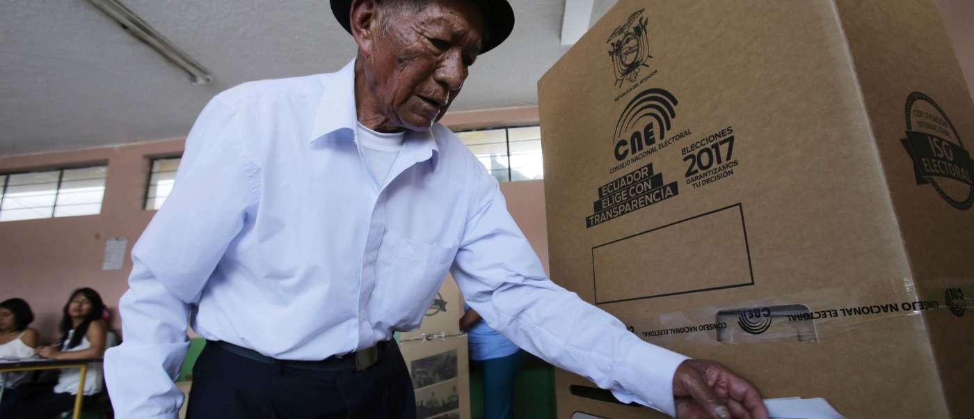 El Consejo Nacional Electoral de Ecuador (CNE) anunció oficialmente que se realizará una segunda vuelta electoral.
