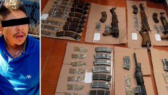 En el momento de la detención el detenido se encontraba en posesión de armamento de alto calibre (Gobierno de Guerrero)