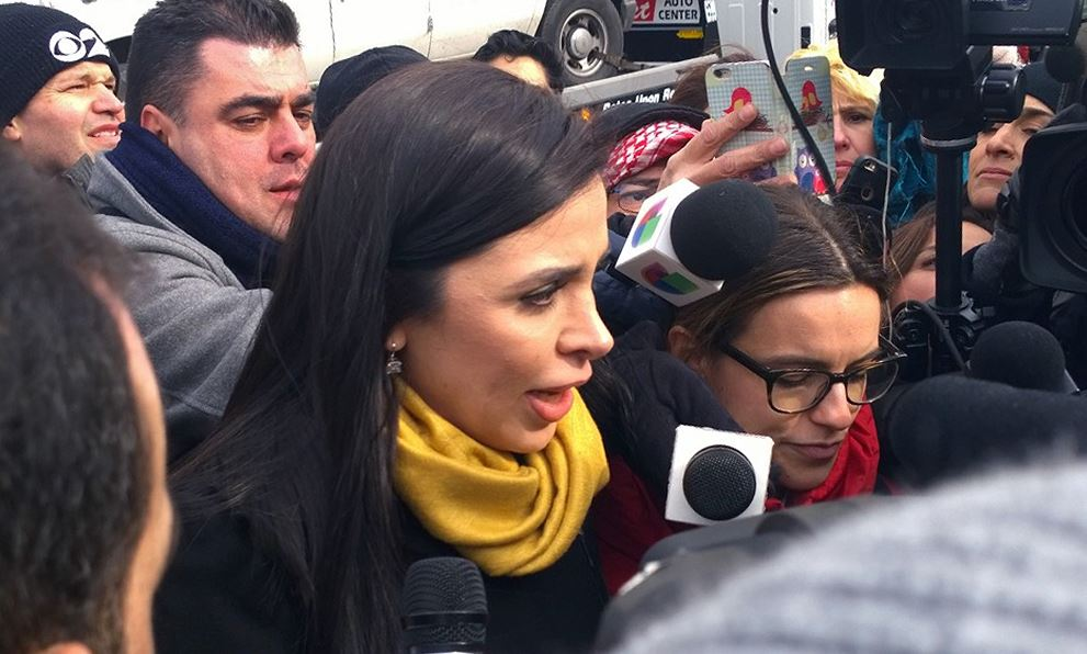 'El Chapo' Guzmán compareció por segunda ocasión en el Tribunal Federal de Brooklyn, NY. (AP)