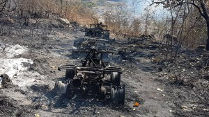 Enfrentamiento en la comunidad El Tule, en lo alto de la sierra de Tecpan de Galeana.