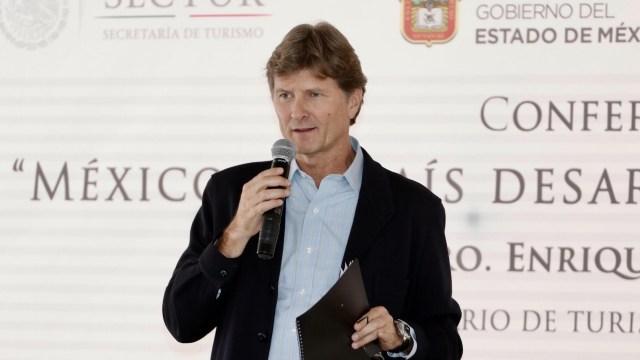 Enrique de la Madrid, secretario de Turismo (Notimex, archivo)